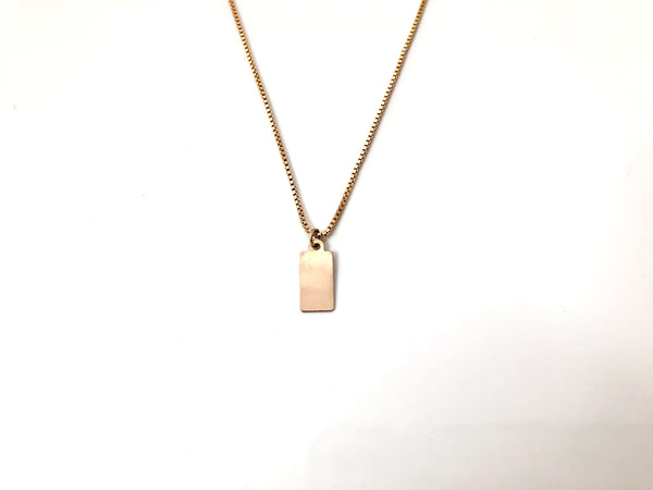 Kano Necklace in Gold