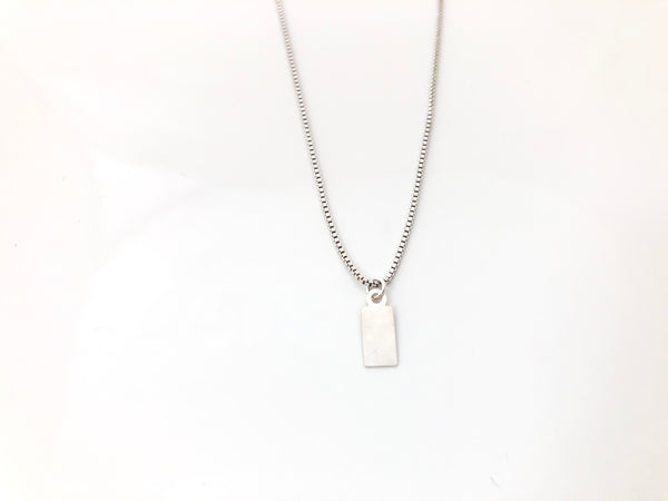 Kano Necklace in Silver