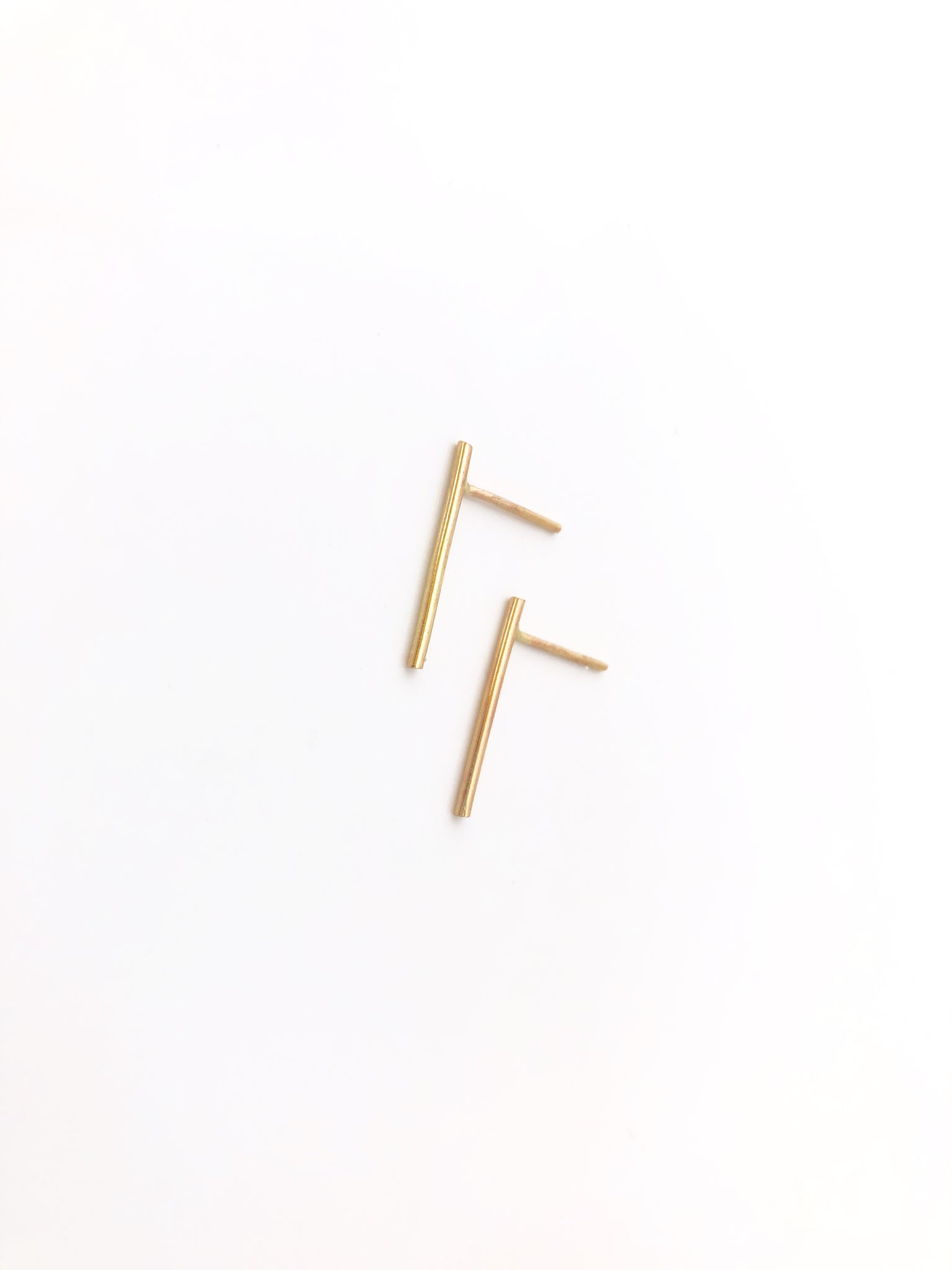 Sakinaw Studs in Gold
