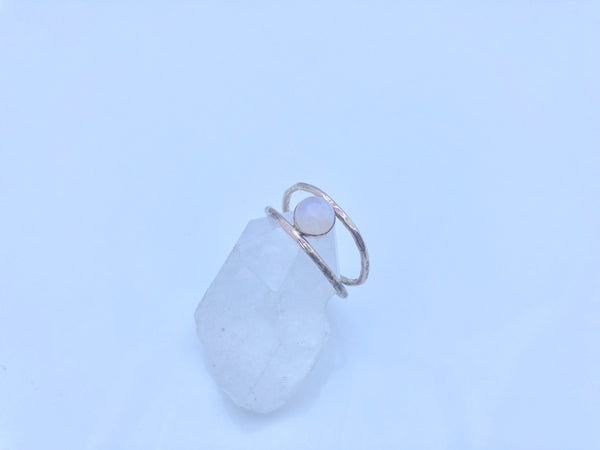 Comox Ring Moonstone/14K gold filled