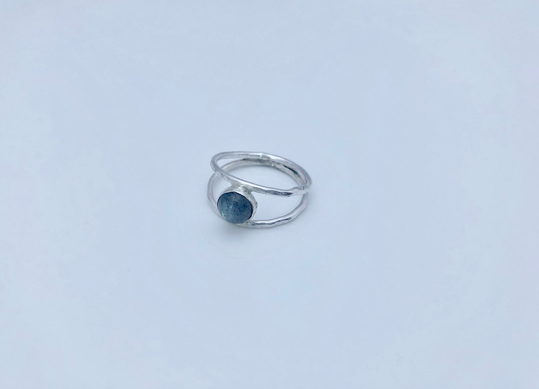 Comox Ring in Labradorite/Sterling Silver