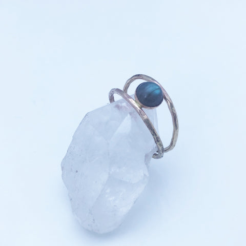 Comox Ring in Labradorite/14k Gold Filled