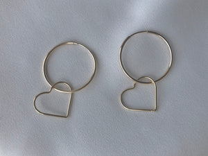 Brucie Hoops Gold (large)