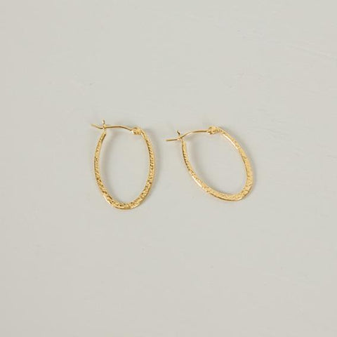 River Hoops | Gold - Charlotte Penman Jewellery