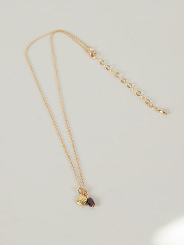 Gratos Necklace | Gold - Charlotte Penman Jewellery