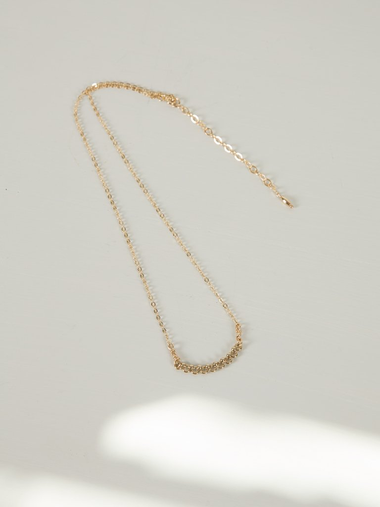 Eos Necklace | Gold - Charlotte Penman Jewellery