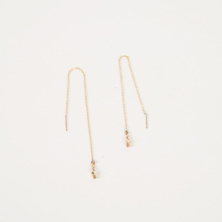 Melba Threaders | Gold Bead - Charlotte Penman Jewellery