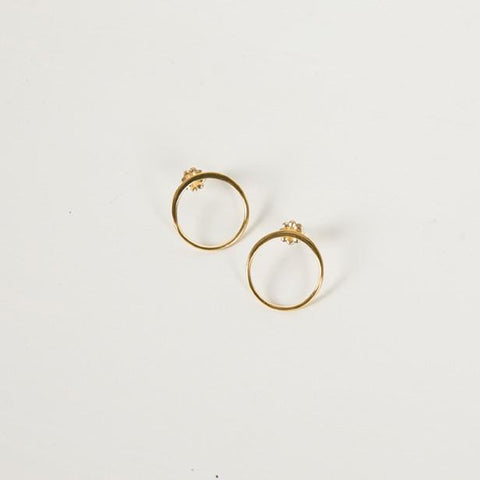 Harmony Earrings | Gold - Charlotte Penman Jewellery