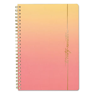 ESAAG5139200 - ARIZONA WEEKY-MONTHLY PLANNERS, 4 7-8 X 8, ORANGE, YELLOW, 2019