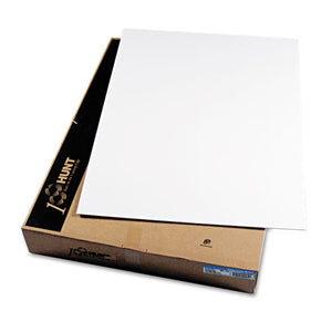 Cfc-free Polystyrene Foam Board, 30 X 40, White Surface And Core, 25-carton