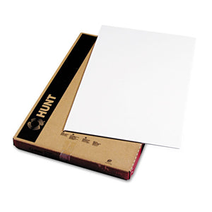 Polystyrene Foam Board, 20 X 30, White Surface And Core, 10-carton