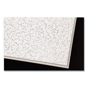 "Cortega Angled Tegular Ceiling Tiles, 24"" X 24"" X 1"", White, 16-carton"