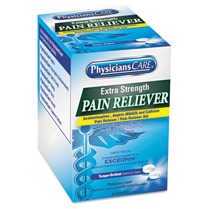 ESACM90316 - Extra-Strength Pain Reliever, Two-Pack, 50 Packs-box