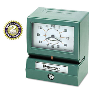ESACP012070411 - Model 150 Analog Automatic Print Time Clock With Month-date-1-12 Hours-minutes