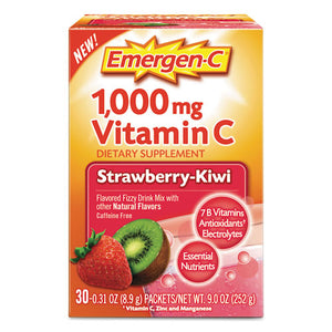 ESALA130319 - Immune Defense Drink Mix, Strawberry Kiwi, 0.31 Oz Packet, 30-box