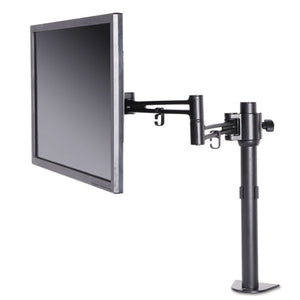 ESALEAEMA1B - ADAPTIVERGO POLE-MOUNTED MONITOR ARM, SINGLE MONITOR UP TO 30