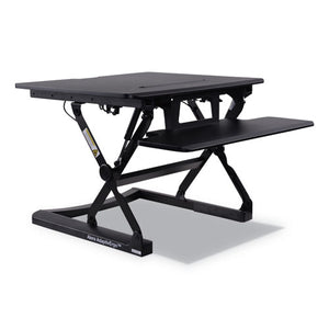 ESALEAEWR1B - Adaptivergo Sit-Stand Lifting Workstation, 26 3-4 X 31 X 19 5-8, Black