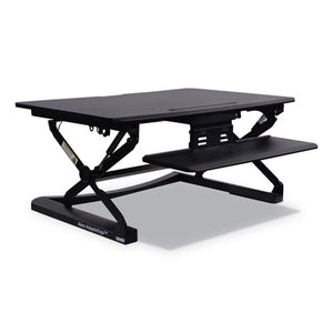 ESALEAEWR2B - Adaptivergo Sit-Stand Lifting Workstation, 35 1-8 X 23 3-8 X 19 5-8,black