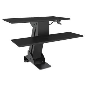 ESALEAEWR5B - Adaptivergo Sit-Stand Lifting Workstation, 31 1-2 X 40 X 20, Black