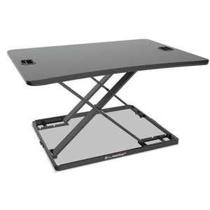 "ESALEAEWR6B - ADAPTIVERGO ULTRA-SLIM SIT-STAND DESK, 31 1-3"" X 22"" X 15 3-4"", BLACK"