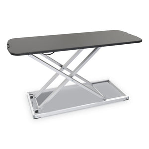 "ESALEAEWR7B - ADAPTIVERGO LAPTOP LIFTING WORKSTATION, 31 1-4"" X 12 5-8"" X 16"", BLACK-SILVER"