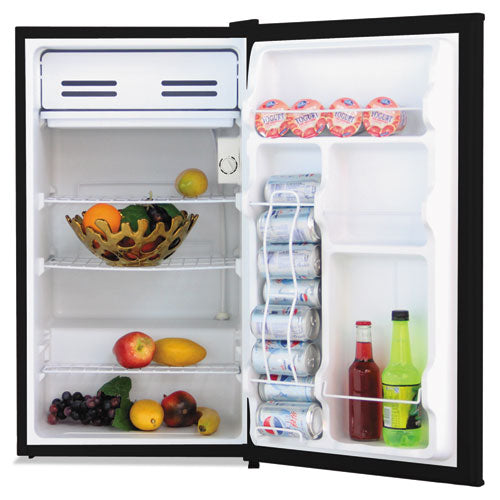 ESALERF333B - 3.3 Cu. Ft. Refrigerator With Chiller Compartment, Black