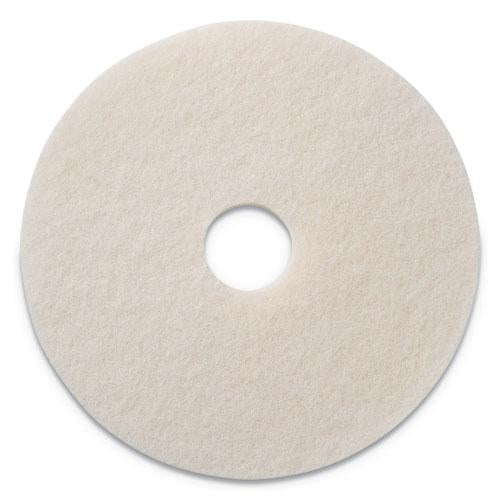 "ESAMF401214 - POLISHING PADS, 14"" DIAMETER, WHITE, 5-CT"