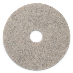 "ESAMF402019 - COMBO BURNISHING PADS, 19"" DIAMETER, TAN, 5-CT"