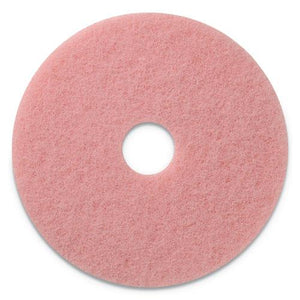 "ESAMF403420 - REMOVER BURNISHING PADS, 20"" DIAMETER, PINK, 5-CT"