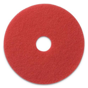"ESAMF404413 - BUFFING PADS, 13"" DIAMETER, RED, 5-CT"
