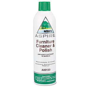 ESAMR1038046 - Aspire Furniture Cleaner & Polish, Lemon Scent, 16oz Aerosol