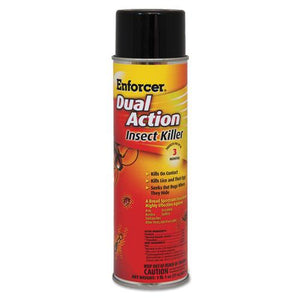 ESAMR1047651EA - Dual Action Insect Killer, For Flying-crawling Insects, 17 Oz Aerosol
