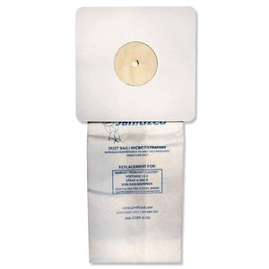 ESAPCJANCXBP2 - Vacuum Filter Bags Designed To Fit Nobles Portapac-tennant, 100-ct