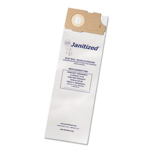 ESAPCJANWIVER3 - Vacuum Filter Bags Designed To Fit Windsor Versamatic, 100-ct