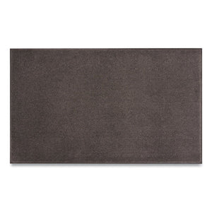 Plush Tuff Entrance Mat, Rectangular, 48 X 72, Charcoal