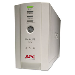 ESAPWBK350 - Bk350 Back-Ups Cs Battery Backup System, 6 Outlets, 350 Va, 1020 J