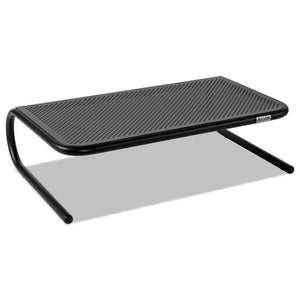 ESASP30336 - Metal Art Monitor Stand, 18 1-2 X 12 1-4 X 5 1-4, Black