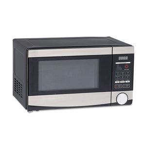ESAVAMO7103SST - 0.7 Cu.ft Capacity Microwave Oven, 700 Watts, Stainless Steel And Black