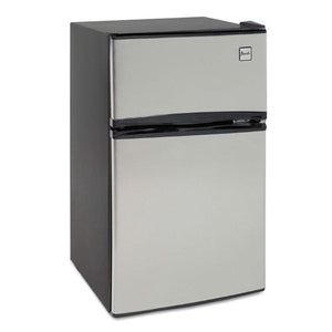 ESAVARA31B3S - Counter-Height 3.1 Cu. Ft Two-Door Refrigerator-freezer, Black-stainless Steel