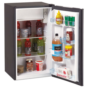 ESAVARM3316B - 3.3 Cu.ft Refrigerator With Chiller Compartment, Black