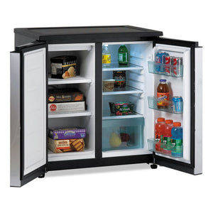ESAVARMS551SS - 5.5 Cf Side By Side Refrigerator-freezer, Black-stainless Steel