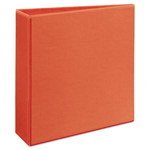 "Heavy-duty View Binder With Durahinge And Locking One Touch Ezd Rings, 3 Rings, 3"" Capacity, 11 X 8.5, Orange"