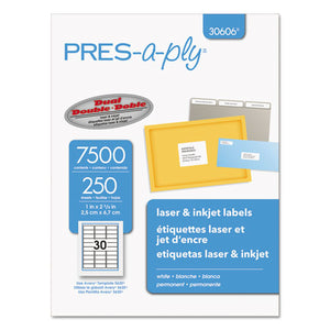 ESAVE30606 - Laser Address Labels, 1 X 2 5-8, White, 7500-box