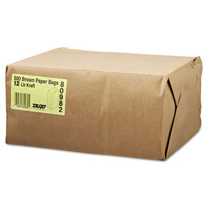 ESBAGGK20S - #20 Squat Paper Grocery Bag, 40lb Kraft, Std 8 1-4 X 5 5-16 X 13 3-8, 1000 Bags