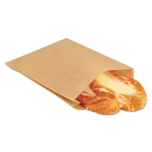 ESBGC300100 - Nk25 Ecocraft Grease-Resistant Sandwich Bag, 6 1-2 X 1 X 8, Natural, 2000-carton