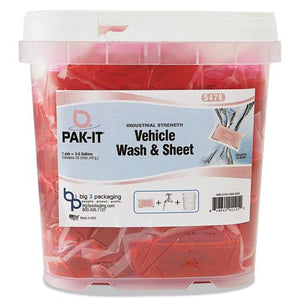 ESBIG5478203200CT - Vehicle Wash & Sheet, Pink, 50 Pak-Its-tub, 4 Tubs-carton
