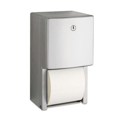 "ESBOB4288 - Conturaseries Two-Roll Tissue Dispenser, 6 1-16"" X 5 15-16"" X 11"""