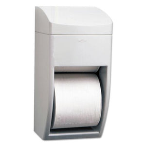 ESBOB5288 - Matrix Series Two-Roll Tissue Dispenser, 6 1-4w X 6 7-8d X 13 1-2h, Gray