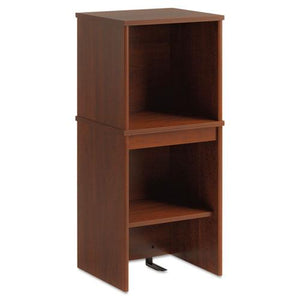ESBSHPR76505 - Envoy Series Narrow Hutch, 16w X 14-1-4d X 36-1-4h, Hansen Cherry