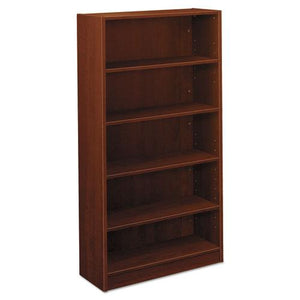 ESBSXBL2194A1A1 - Bl Laminate Series Five Shelf Bookcase, 32w X 13 13-16d X 65 3-8h, Medium Cherry